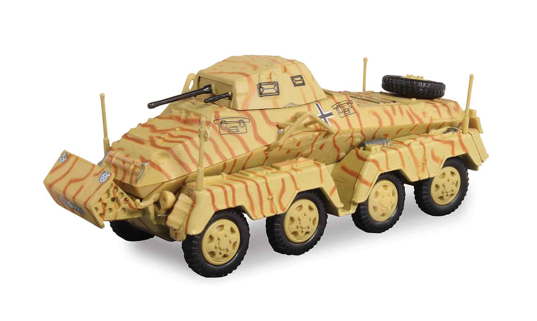 Models - Armoured Schwerer Panzerspahwagen (8-Rad) Sd.Kfz ...